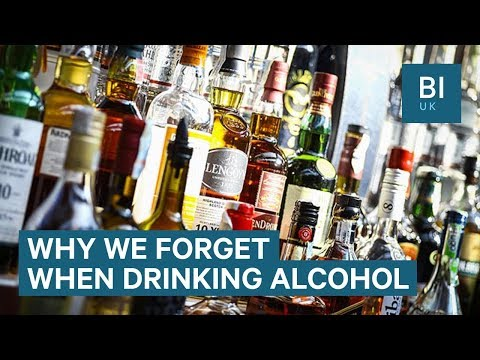 Why we black-out when we drink alcohol