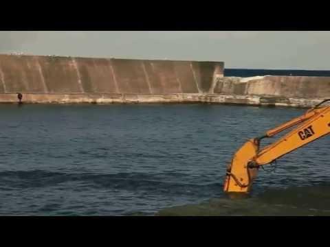 Подводный бульдозер Komatsu D155W