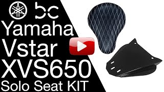 Xvs650 Bobber Seat Solo Conversion Kit Yamaha