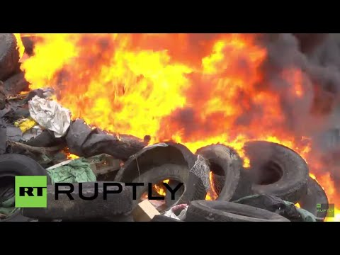 France: Farmers block German agri imports with huge tractor cordon