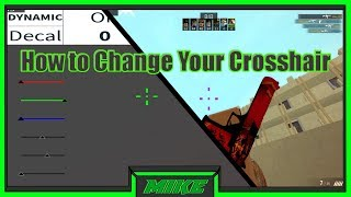 Roblox Counter Blox How To Change Your Crosshair. How To Change Your Crosshair in CBR Roblox 2018!