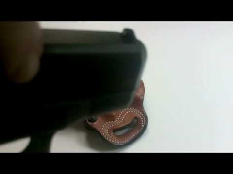 Desantis Small of Back Holster Review for Glock 26