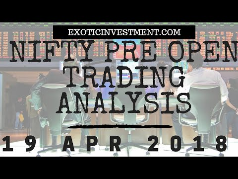 Nifty Pre Open Strategy 19th April 2018:  NSE Pre Open Market Strategy Before the Pre Open Market