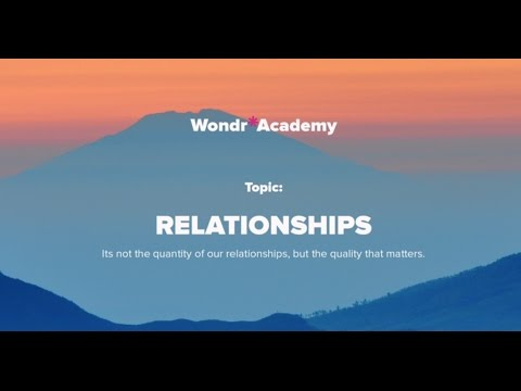 Talk 8 Topic: Realtionships - Alicia Drummond, MBACP Accred