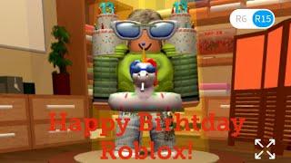 Obtenez vos articles d'anniversaire Roblox gratuit! Joyeux anniversaire Roblox !