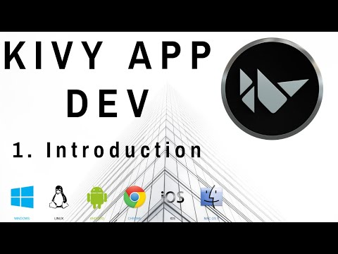 Kivy Intro - Mobile And Desktop App Dev W/ Python