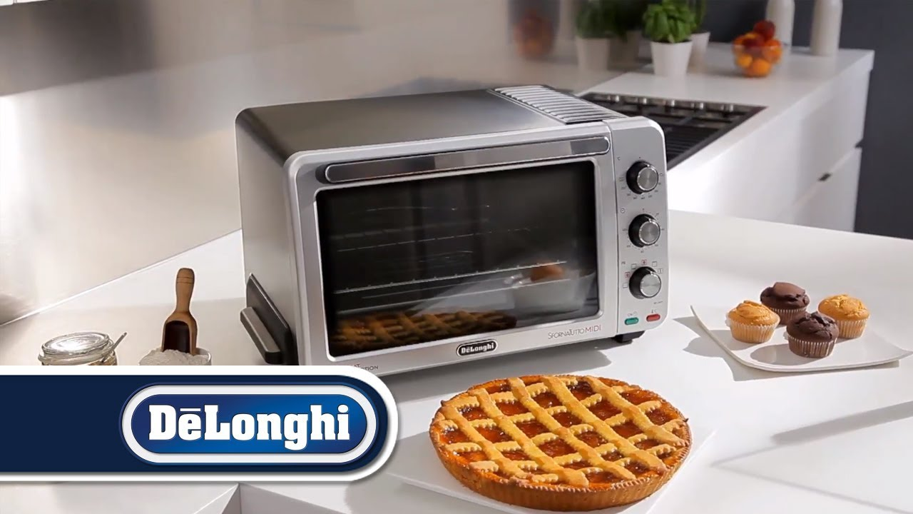 De'Longhi Sfornatutto EO2475   <b>Electric</b> convection oven - YouTube