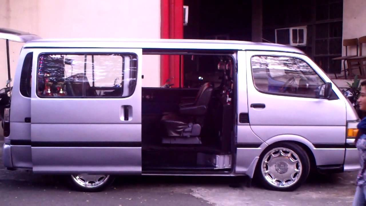 Customized Toyota Hiace Vans >> Customized Toyota HiAce Commuter Diesel - YouTube