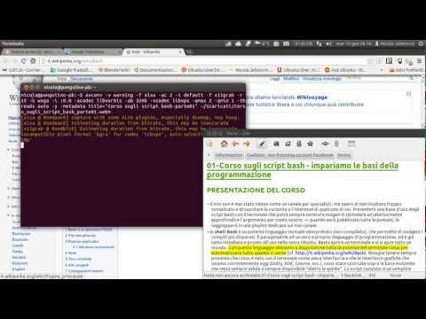 Corso sugli script bash parte 01 - introduzione