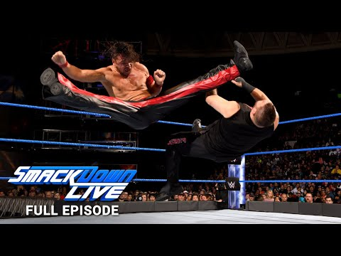 WWE SmackDown LIVE Full Episode, 31 October 2017