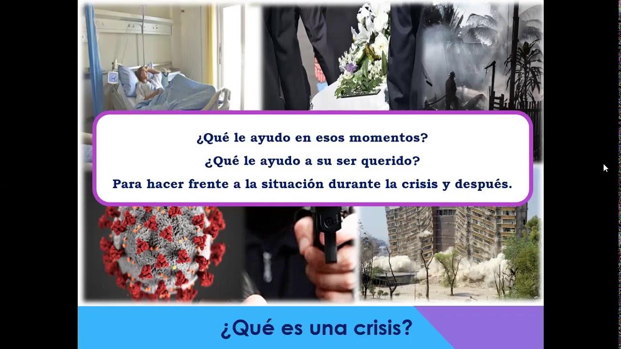 """En nuestro webinar """"Primeros auxilios psicológicos"""" vimos qué hacer durante una crisis y después."""