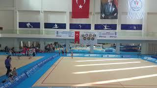 Ritmik Jimnastik İlk çember performans..