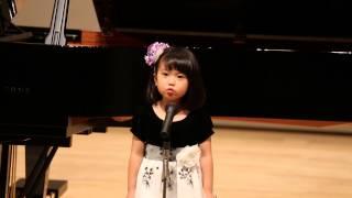5yr girl sings Believe/Ryuichi Sugimoto ビリーブ