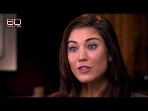 "USWNT - 60 Minutes Excerpts - Hope Solo ""When We Brought Up The Men, It Pissed Them Off"" - Pt 4 of 6"