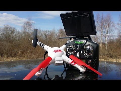 Видео Квадрокоптер v666 инструкция на русском языке
