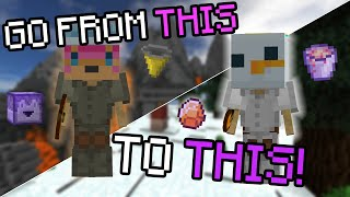 The Ultimate MINION PROGRESSION Guide! | BEST MINIONS For Early, Mid & Late Game! | Hypixel Skyblock
