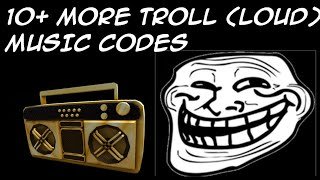 10+ More Loud & Annoying MUSIC CODES/IDS | Roblox