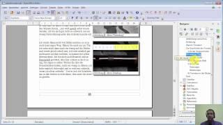 Film #010 OpenOffice 4.1.1 Writer ::: Kopfzeile und Kapitelhinweise