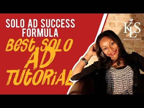 Solo Ad Success Formula- Solo Ad Success Formula Review-The Super Affiliate Network