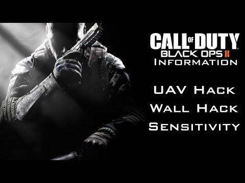 Black Ops 2 Information - New Sensitivity Options, Hack UAV's and equipment through Walls!