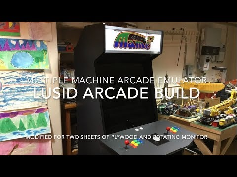LuSid Arcade Cabinet Build for MAME / Retropie