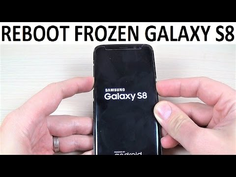REBOOT FROZEN Samsung Galaxy S8, S8+ and NOTE 8 | How to