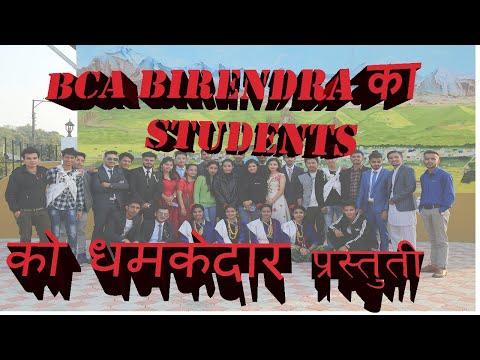 Mix Hindi Songs Dance Welcome Programe Bca Birendra Bharatpur Chitwan Dhamakedar  Prastuti