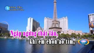 Karaoke Se upload sau Hoa Tau Hoa Muoi Gio Hoa Tau Accordion & Guit...