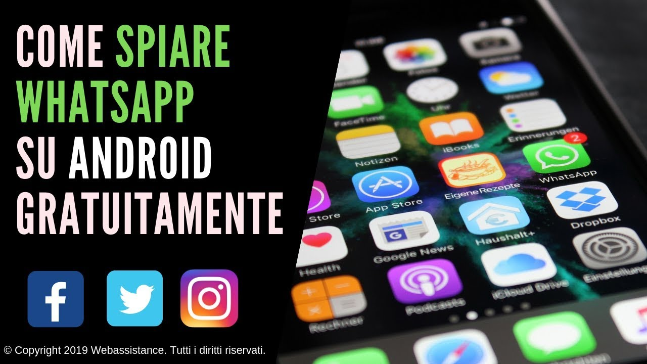 come spiare whatsapp android 2019