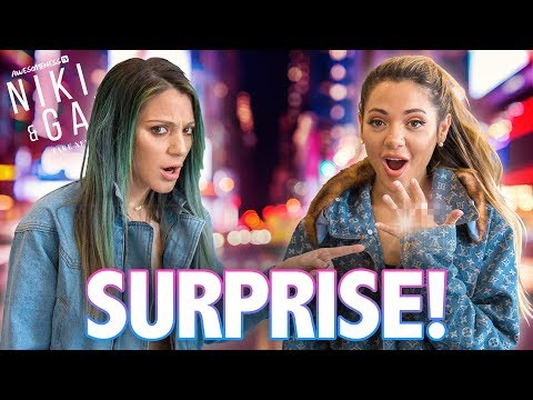 GABI & COLLIN'S SURPRISE ANNOUNCEMENT | Niki and Gabi Take New York S3 EP 7