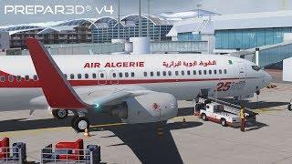 Prepar3D v4 3 | Algiers to Paris | DAAG-LFPG | PMDG 737-800NGX WL | P3D by  Ken Kuusemets
