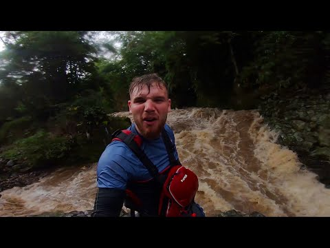 Flash floods and waterfalls in Indonesia!