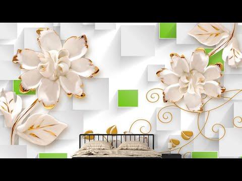 Wallpaper Design 2020   Home Walls Flex Designs #3D 4D 5D High Quality Design   HD Wall Design