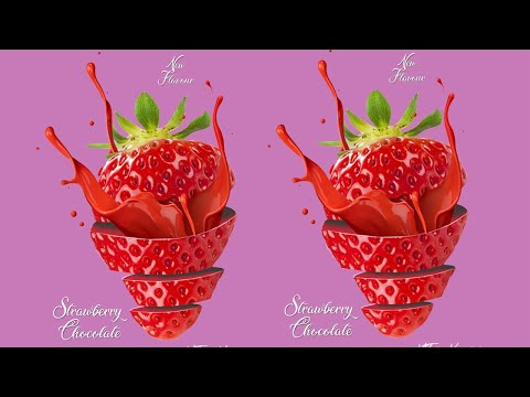 How to Design Strawberry Chocolate Flavor   KHTube Knowledge New Design 2019