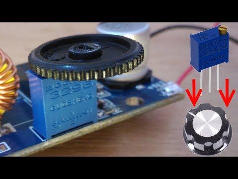 Ручка для многооборотного подстроечного резистора 3296