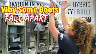 How to pick the best Work boots & shoes for the Job site & why some wear out so fast