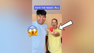Mom Reacts to MY Magic Tricks!! - #Shorts