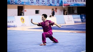 Men's Cha Fist 男子查拳 第1名 山东 孙培原 分 shan dong sun pei yuan