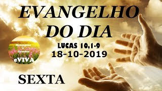 GOSPEL OF OCTOBER 19 Narrated and Commented - DAILY LITURGY - TODAY EVIVA