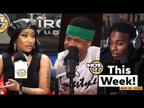 Nick Minaj tells her story with Funk Flex, Nasty C + Playboi Carti were on HOT97 This Week!