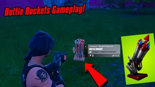 * Neu* BOTTLE ROCKETS Gameplay In Fortnite