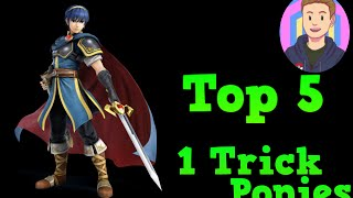 Top 5 Best One Trick Ponies - Smash Bros Wii U / 3DS