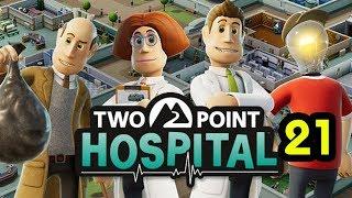 Two Point Hospital โรงบาลนี้ เด่วรวย เด่วจน Part 21