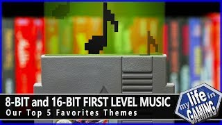 8 Bit And 16 Bit First Level Music   Our Top 5 Favorite Themes / My Life In Gaming