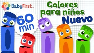 Aprender los Colores en Español para los Niños | Learn Colors in Spanish for kids | Video de 1 Hora