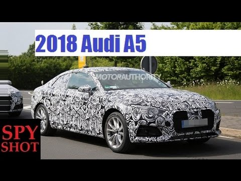 2018 Audi A5 Spy Shot ! - YouTube