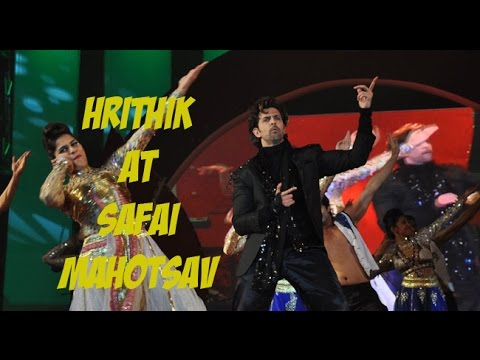 Hrithik's performance at Safai Mahotsav 2015