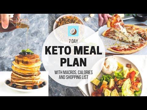 KETOGENIC DIET Meal Plan - 7 DAY FULL MEAL PLAN for KETO
