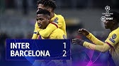 Inter vs Barcelona (1-2) | UEFA Champions League Highlights
