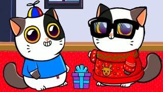 КОТЕНОК с УЛИЦЫ #3 - Виртуальный Котик - My Virtual cat Mimitos мультик игра для детей #ПУРУМЧАТА